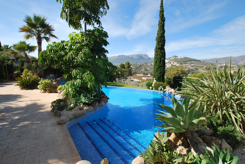 bildergalerie ferienhaus in spanien costa blanca privater pool calpe cascada bild 3. Black Bedroom Furniture Sets. Home Design Ideas
