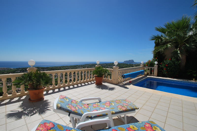 Nice Ferienhaus Moraira Für 6 Personen: Ferienhaus Mieten Spanien Moraira  Teulada Benimeit Villa Meerblick